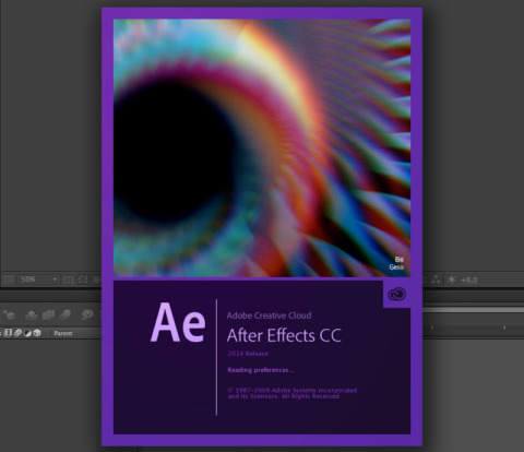 Adobe After Effects Screen Splash by Geso | Digital Art / Graphic Design