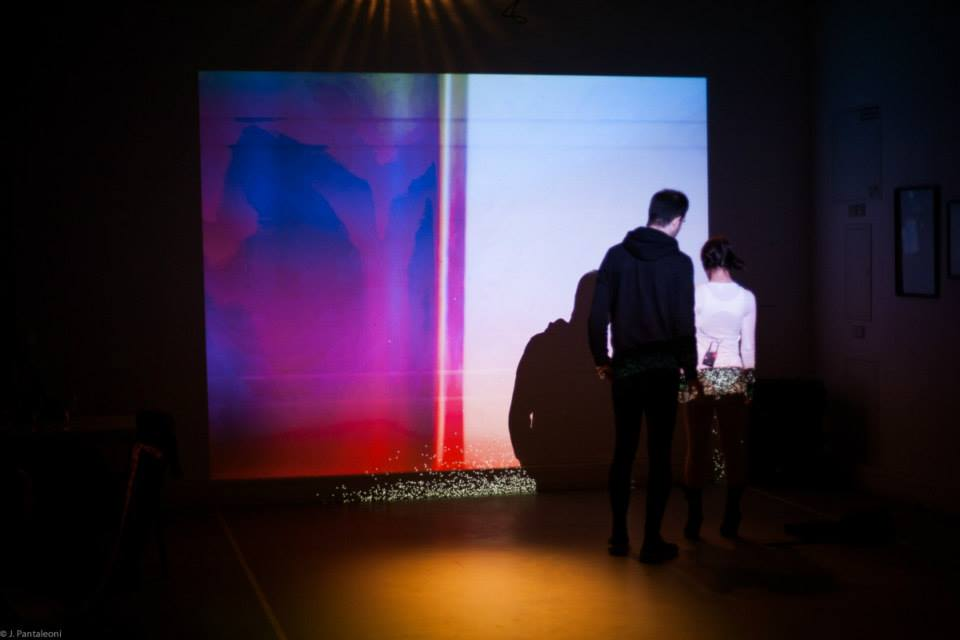 Call Me Reality by Geso | Visuals for theater / Live visuals / Theater performance