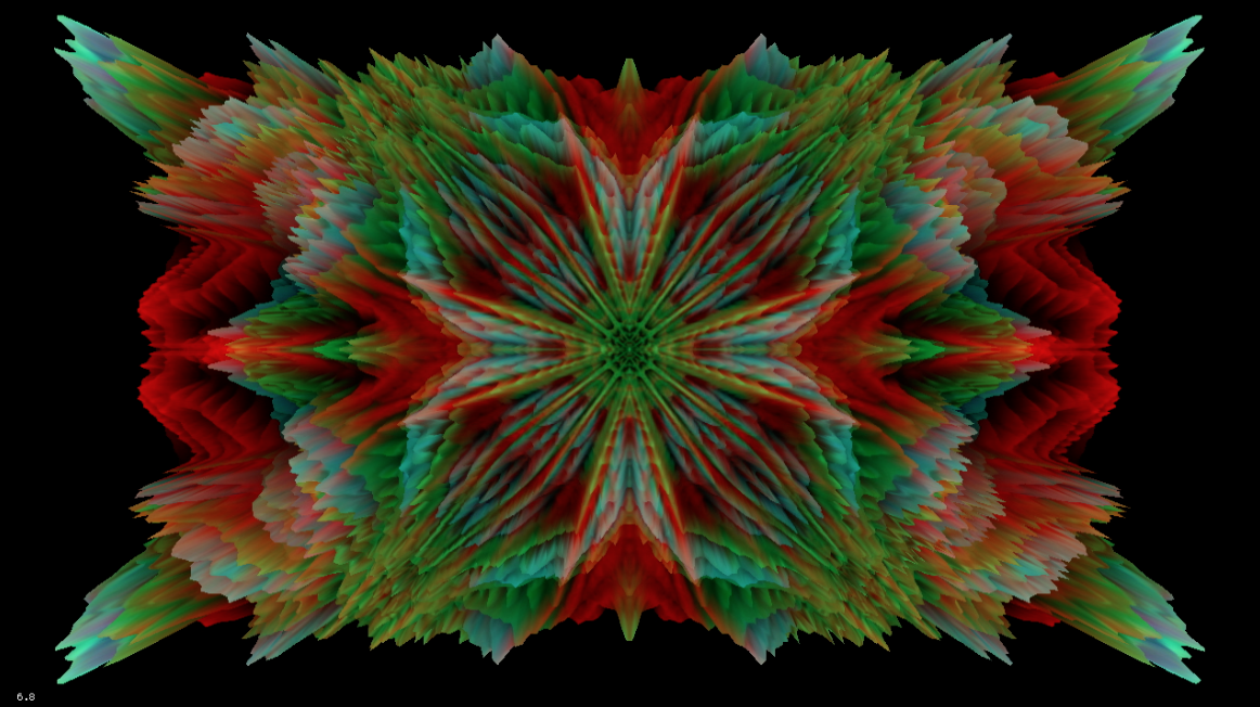 A Circle Inside A Circle Inside by Geso   Live Visuals / Visual Music