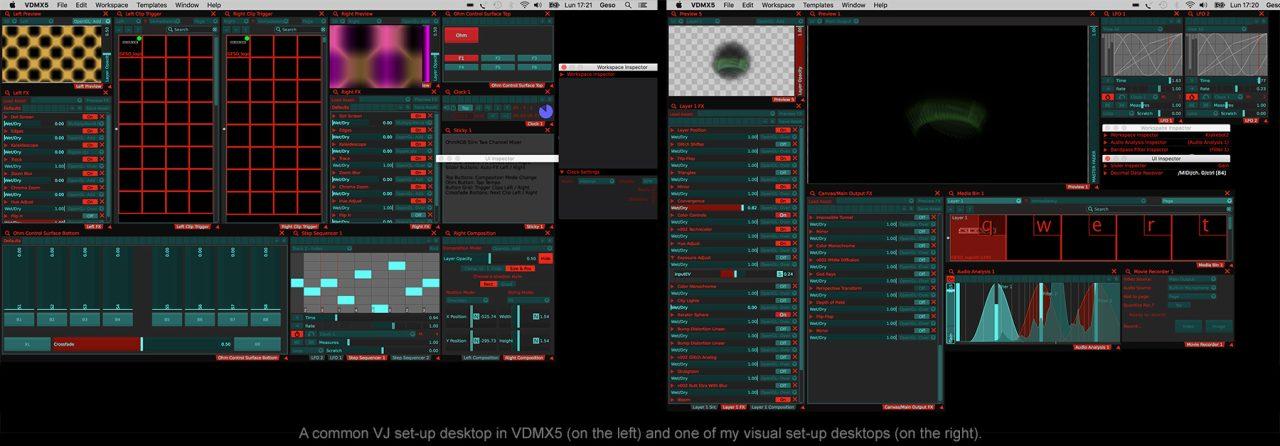 Vj or Visual Artist by Geso