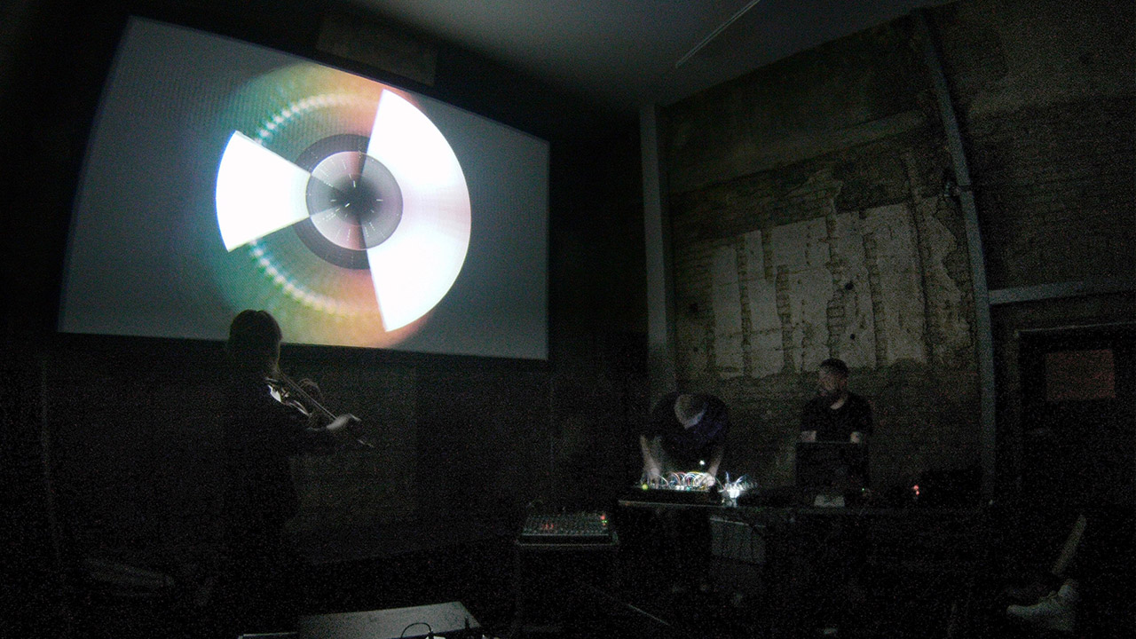 Visual Music Improvisation Morphome Trio Visual by Geso
