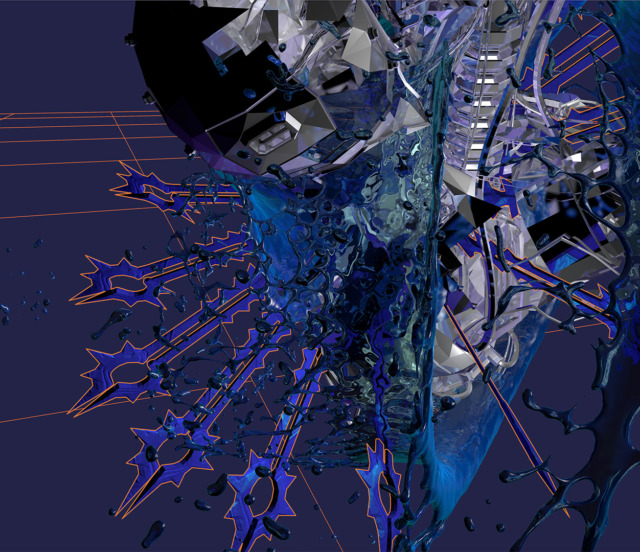 LAB001 - Datafive art direction and cover artwork by Geso